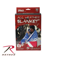 Rothco Red All Weather Survival Blanket