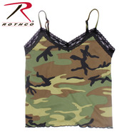 Rothco Women's Lace Trimmed Camo Camisole