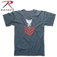 Rothco Vintage ''Naval Rank Insignia'' T-Shirt