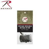 Rothco Vintage Web Belt Buckle & Tip Pack