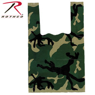 Rothco Woodland Camo Shopping Bag