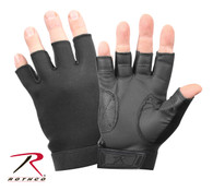 Rothco Fingerless Stretch Fabric  Duty Gloves