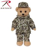 Rothco Camo Teddy Bear