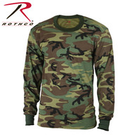 Rothco Kids Long Sleeve Camo T-shirt