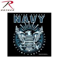 Black Ink Black Navy Emblem T-Shirt
