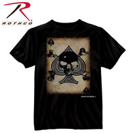 Black Ink 'Death Card' T-Shirt