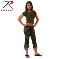 Rothco Womens Camo Capri Pants