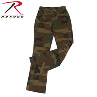 Rothco Womens Camouflage Stretch Flare Pants