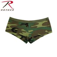 Rothco Woodland Camo Booty Shorts