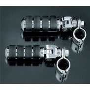 """Kuryakyn 8033 ISO Large Pegs with Clevis and 1-1/4"""" Diameter Clamps"""