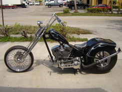 #3933 ASPT AMERICAN STREET MUSCLE FAT TIRE CHOPPER