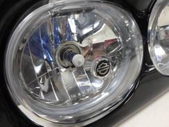 Harley Davidson Headlight Assembly Cover Bezel Scowl Outer Fairing Road Glide 09