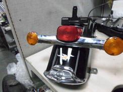 HARLEY DAVIDSON REAR FENDER With REAR LIGHT FLHR 2011 ROAD KING