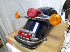 HARLEY DAVIDSON REAR FENDER With REAR LIGHT TURN SIGNALS FLHTCU 2011