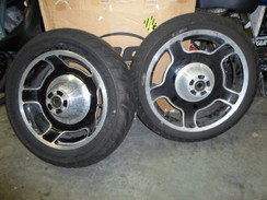 Harley Davidson Touring Front & Rear Rims 25 mm axle 09 & up