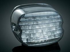Kuryakyn Panacea LED Taillights W/O License Light (Smoke) 5427 Harley FL Models