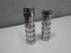 Chrome Billet Grips for Harley Davidson