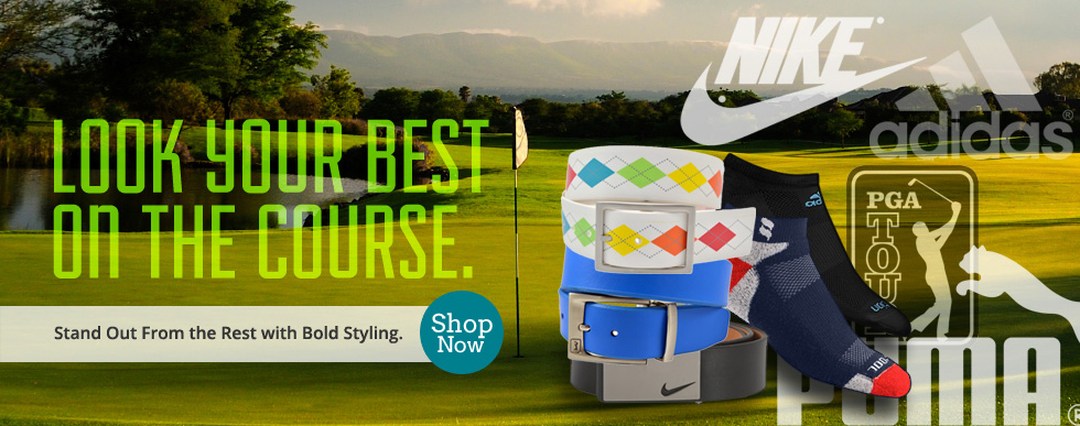 PGA Tour Golf Belts