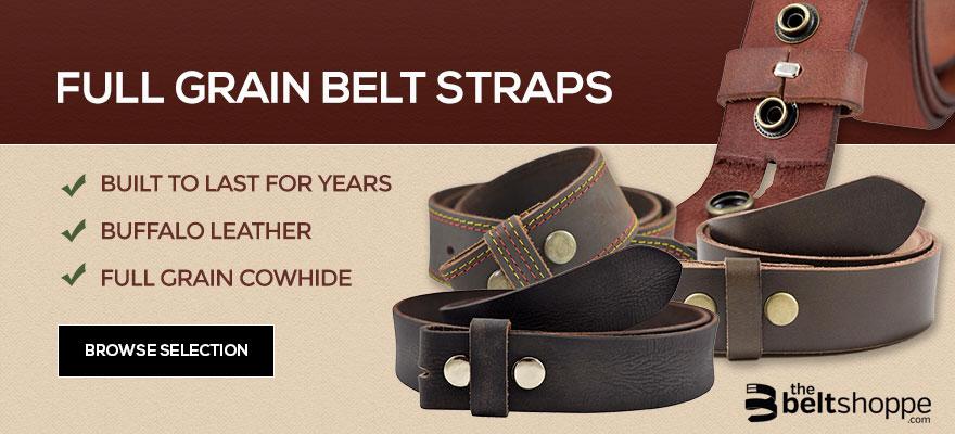 Full Grain Belt Straps