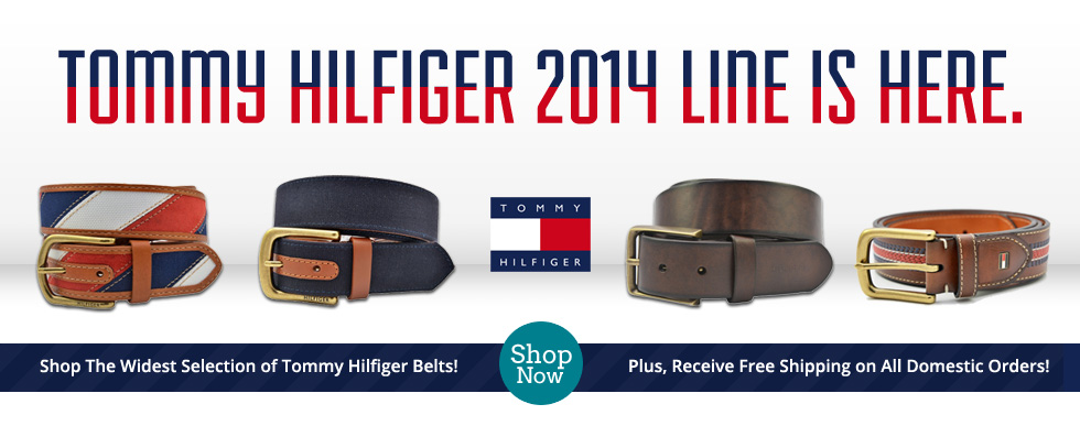 Tommy Hilfiger Belts on Sale