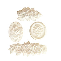 CX879 - Victorian Flowers Applique