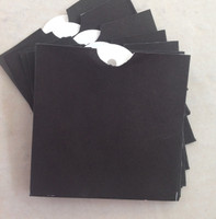 GN627 - Black Envelope Bags Tags
