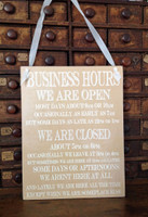 HM055 - Business Hours...   (Tan)
