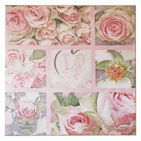 MA004 - Love of Roses Canvas Print