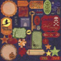 GN618 - Halloween Die Cuts