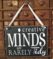 HM079 - Creative Minds are Rarely Tidy