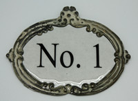 CIH151 - Enamel Zinc Sign (No.1)