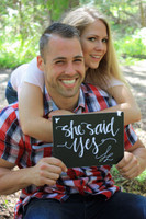 HM015 - She Said Yes Sign