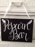 HM024 - Popcorn Bar Sign