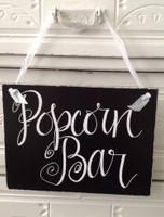HM024 - Popcorn Bar Sign