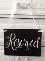 HM025 - Reserved Sign