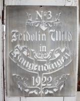 CIH270 - Grain Sack Stencil 1922
