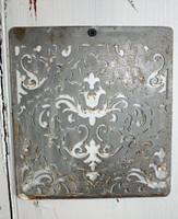 """CIH275 - Metal Stencil 6"""" x 6""""  - Demask"""