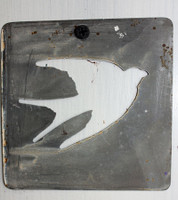 "CIH279 - Metal Stencil 4"" x 4"" - Flying Bird"