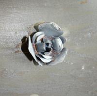 "CIH287 Metal Magnetic Flower 1.25"" - Zinc"