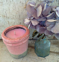 Votive Ceramic Pot-Fresh Floral