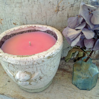 Angel Ceramic Pot-Fresh Floral-White