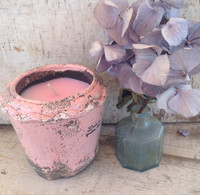 Delicate Ceramic Pot-Fresh Floral_Pink