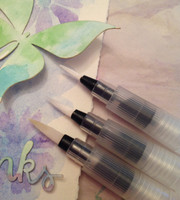 Water Brush Pens S/3