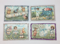 Easter  Little Darlings Postcards S/4