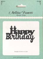 Happy Birthday Candles Die