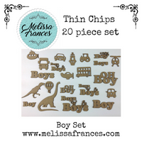 Thin Chips-Boy Set-20 pcs