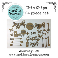 Thin Chips-Journey Set-24 pcs
