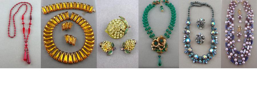 Shop vintage costume jewelry