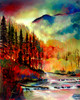 Affinity of Dawn by modern landscape painter Ford Smith