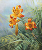 Tiger Lilies and Grasshopper, Stephen Lyman SMALLWORK ANNIVERSARY EDITION